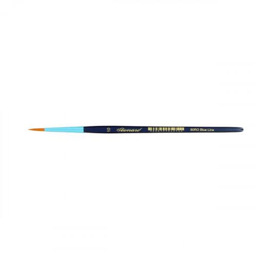 Pinceau rond en fibre synthétique série Blue Line 80RO n°10