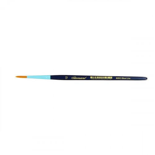 Pinceau rond en fibre synthétique série Blue Line 80RO n°12
