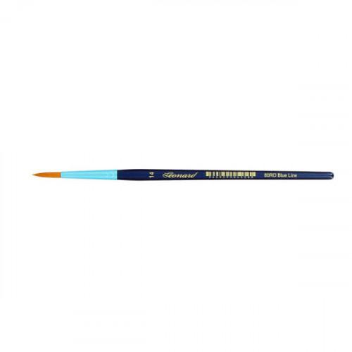 Pinceau rond en fibre synthétique série Blue Line 80RO n°14