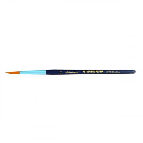 Pinceau rond en fibre synthétique série Blue Line 80RO n°16