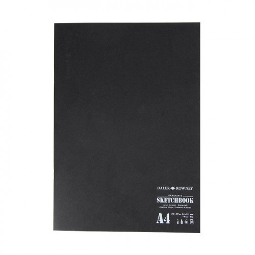 Carnet de dessin Graduate 140 g/m² 20 feuilles A4