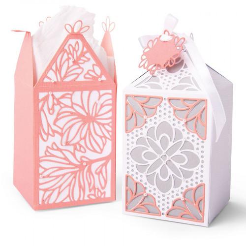 Thinlits Die Set Boîte cadeau élégante - 8 pcs