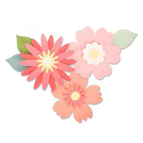 Bigz Die Fleurs luxuriantes