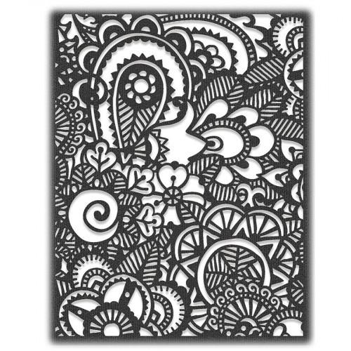 Thinlits Die Griffonnage artistique