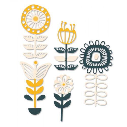Thinlits Die Set Fleurs superposables - 13 pcs