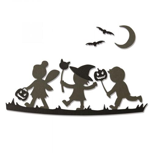 Thinlits Die Set Silhouettes d'Halloween - 6 pcs