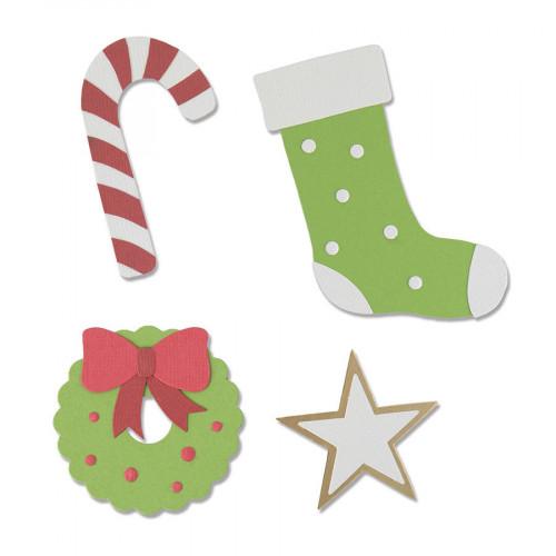 Bigz Die Elements de Noël