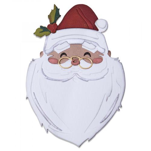 Thinlits Die Set Colorize Père Noël - 12 pcs