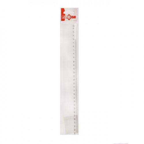 Règle plate en plastique graduée 30cm
