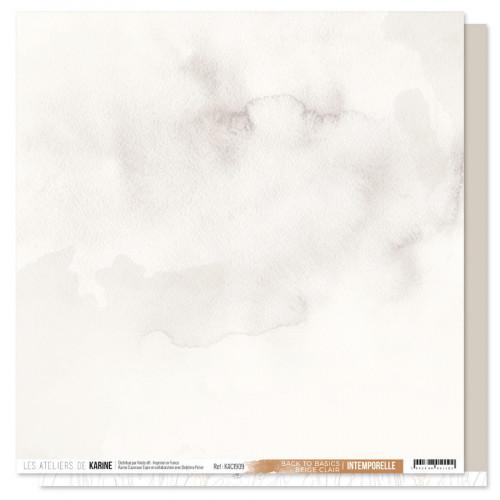 Intemporelle Back to Basics Papier beige clair