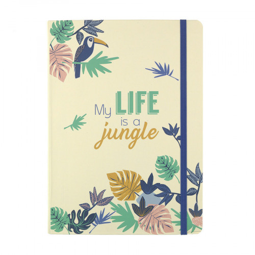 Bullet Journal My life is a jungle - 15 x 21 cm