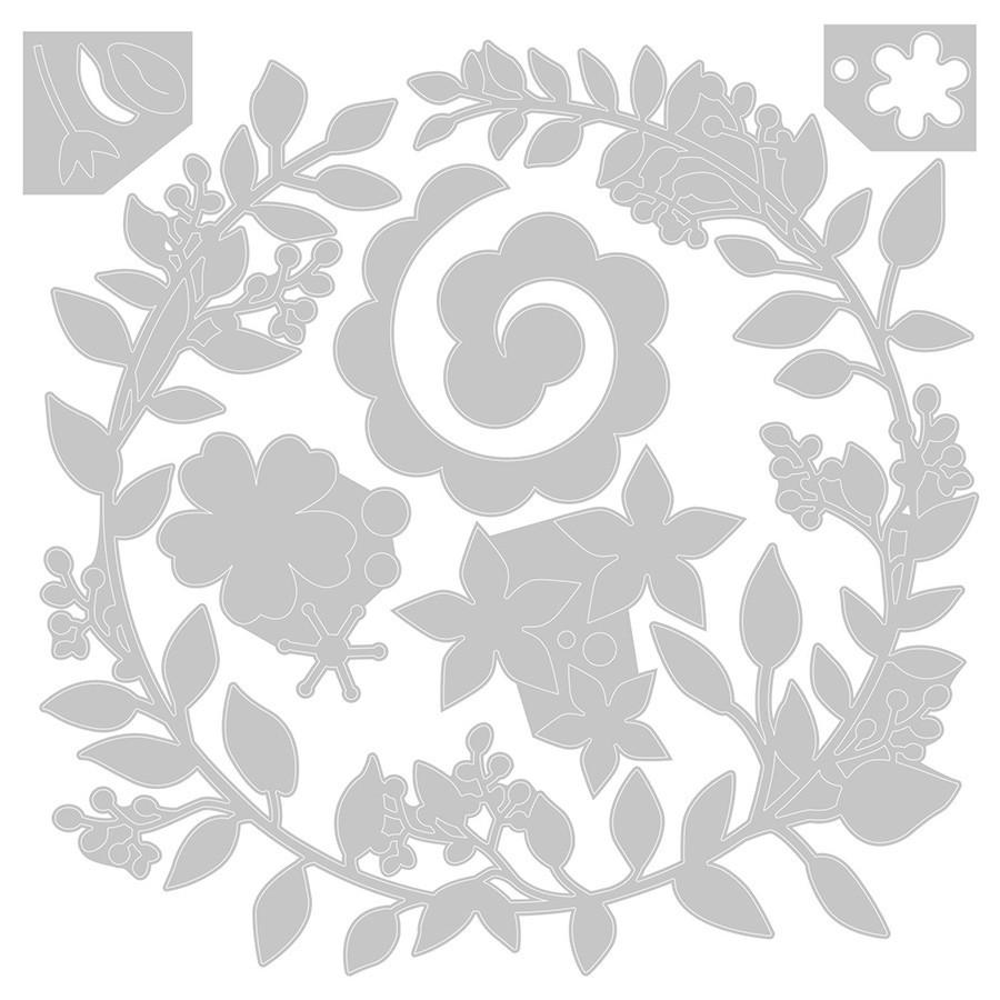 Thinlits Die Set Couronne de Mariage - 6 pcs