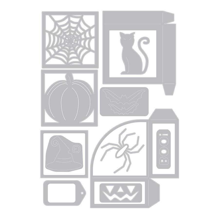 Thinlits Die Set Boîte Halloween - 12 pcs
