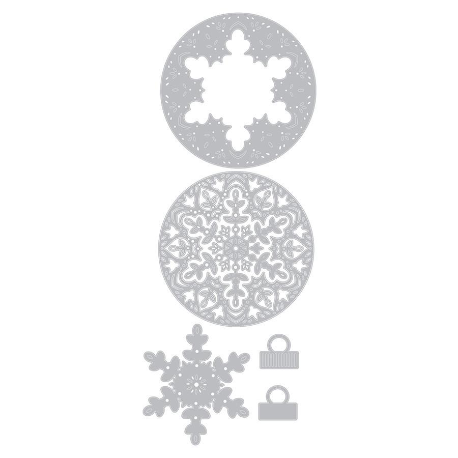 Thinlits Die Set Flocons superposables - 6 pcs