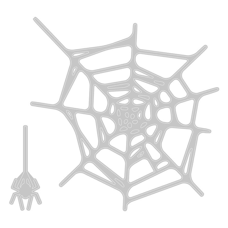 Thinlits Die Set Toiles d'araignée - 2 pcs