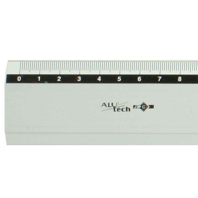 Règle en métal 40 cm Alu'Tech