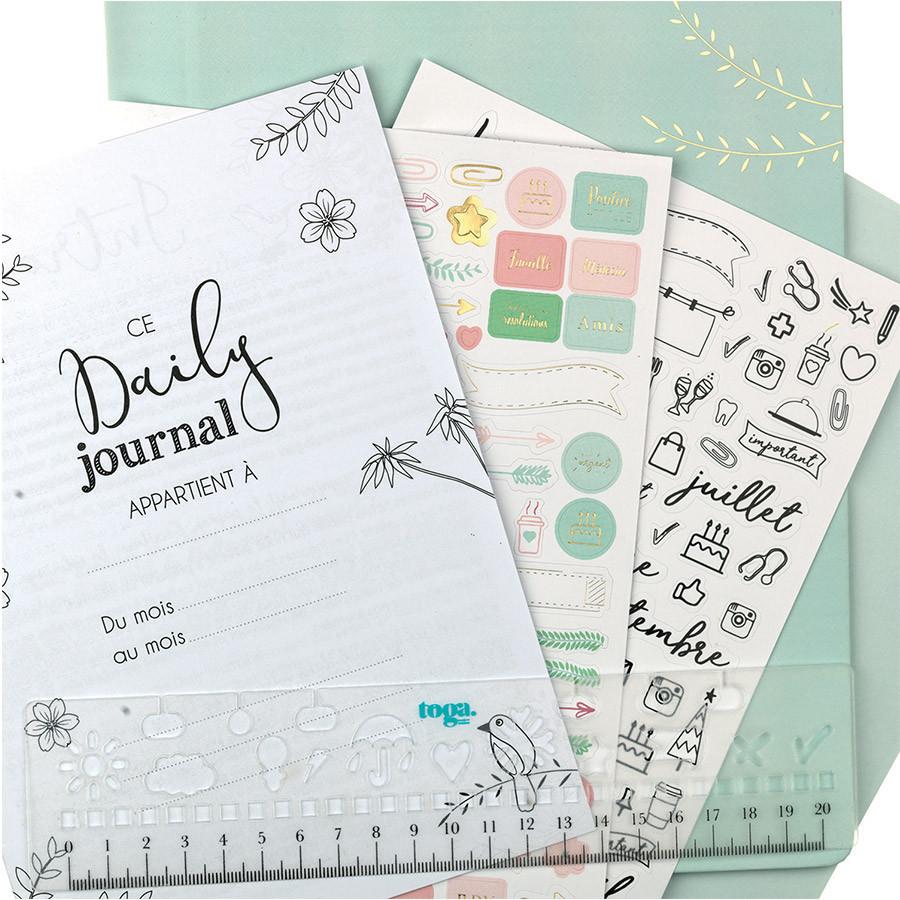 Kit de démarrage Bullet Journal amovible
