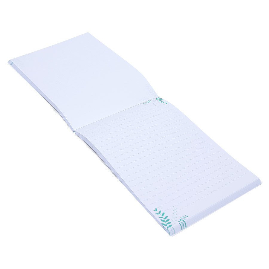 Bloc-notes Mes petites notes en or - 13 x 18 cm