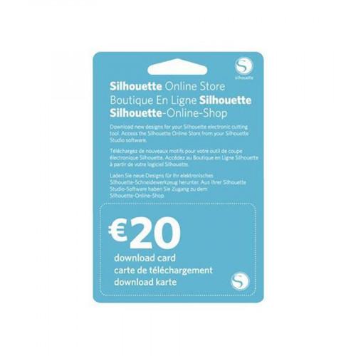 Code de téléchargement Silhouette Design Store 20 €