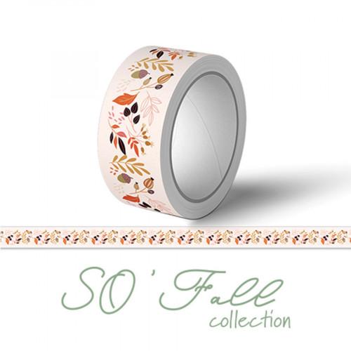 Washi Tape Les feuillages - 1 cm x 10 m