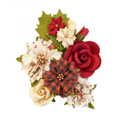 Fleurs en papier Christmas in the Country #1