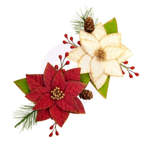 Fleurs en papier Christmas in the Country #3