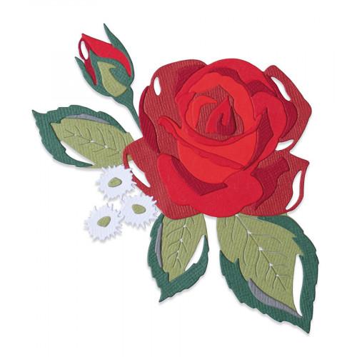 Thinlits Die Set Incroyable Rose - 14 pcs