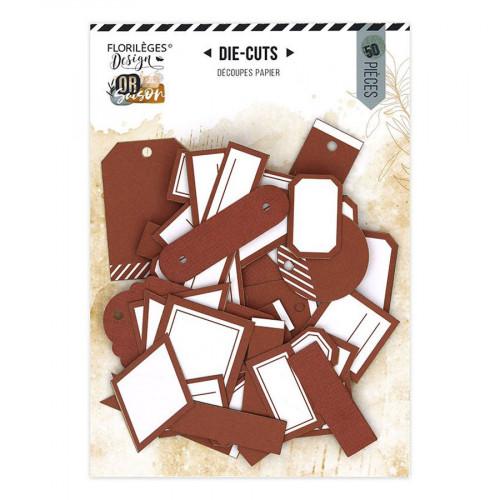 Assortiment Etiquettes #20 - terracotta