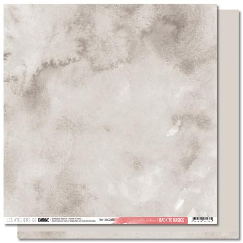 Jardin d'Hiver Back to Basics Papier gris ardoise