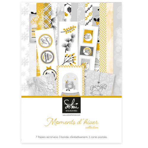 Moments d'Hiver Kit de collection