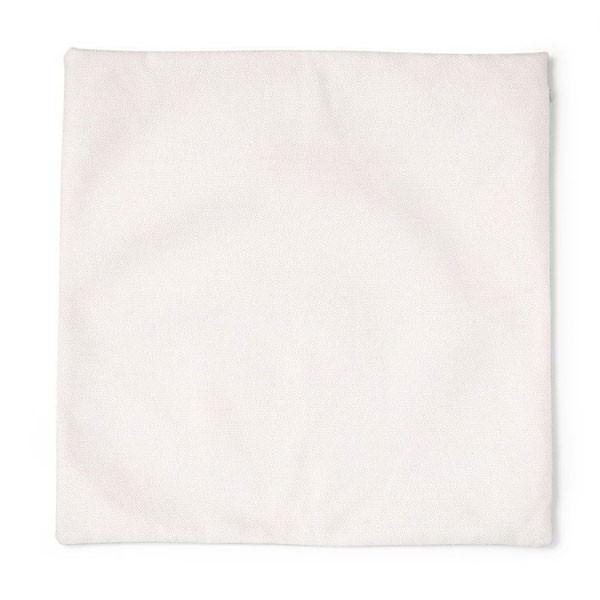 Taie d'oreiller crème à customiser - 45,5 x 45,5 cm