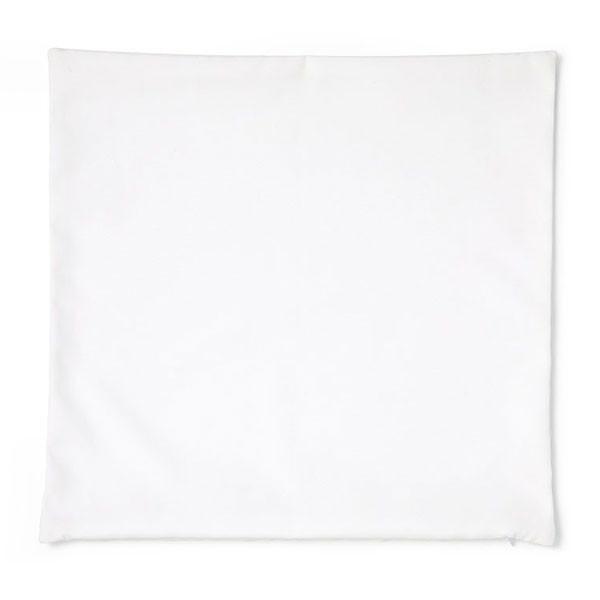 Taie d'oreiller blanc à customiser - 45,5 x 45,5 cm