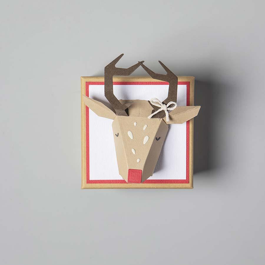 Thinlits Die Set Die Set Renne Origami - 5 pcs