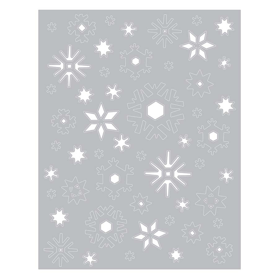 Thinlits Die Tempête de neige