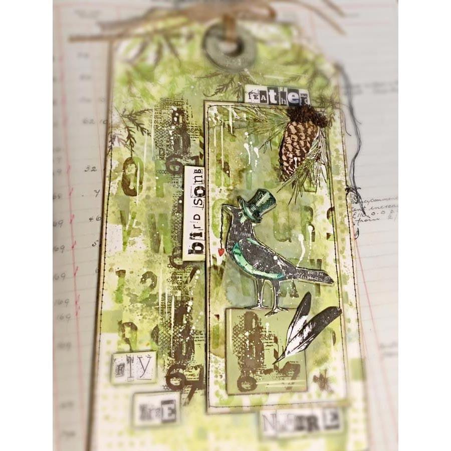 Tampons transparents #394 Oiseaux