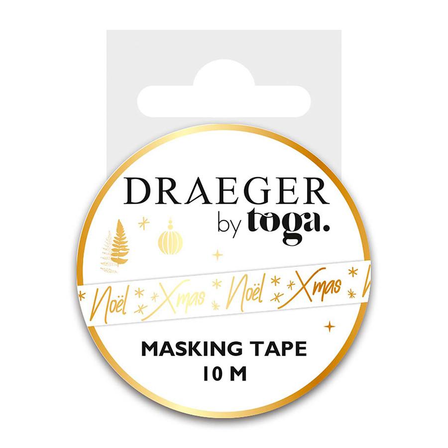 Masking Tape Noël - 1,5 cm x 10 m