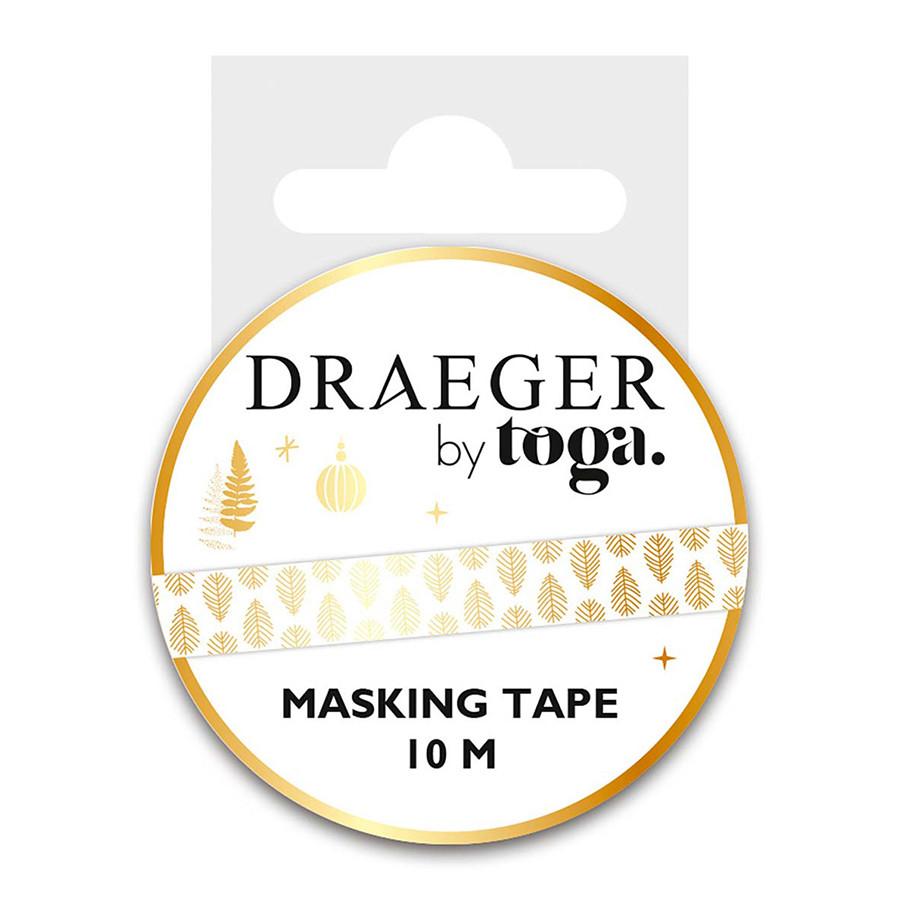 Masking Tape Feuillages - 1,5 cm x 10 m
