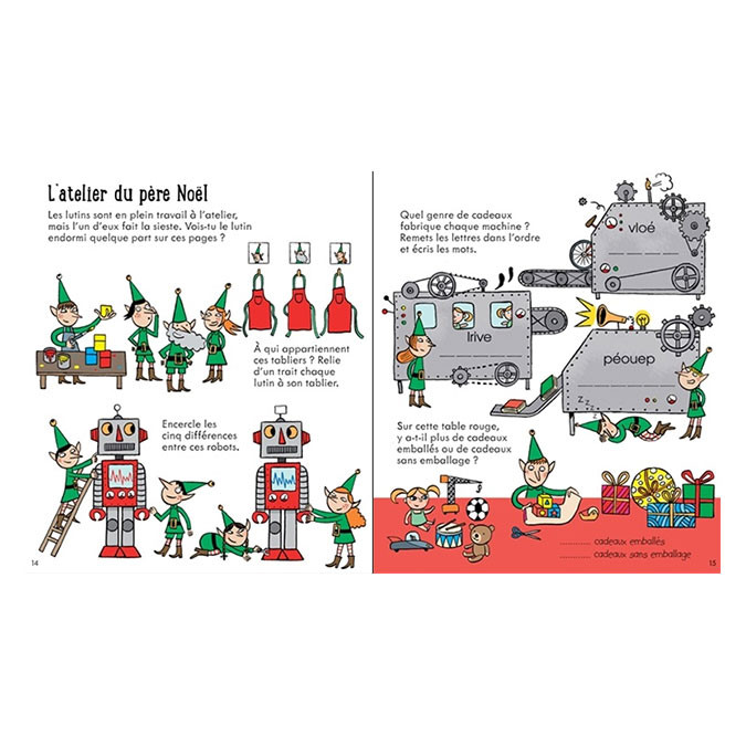 Cahier d'activités pour les petits Noël