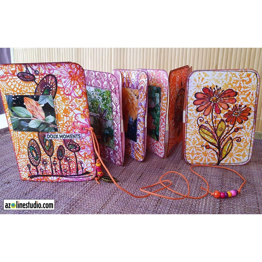 Tampons Cling Bouquet du matin - 4 pcs
