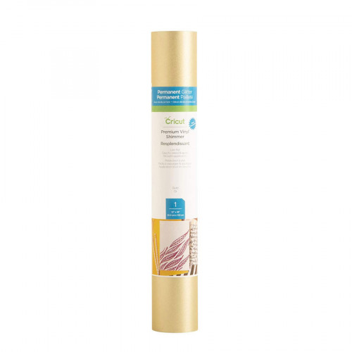 Vinyle Cricut Shimmer or 30,5 x 122 cm