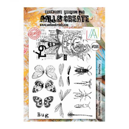 Tampons transparents #388 Insectes ailés