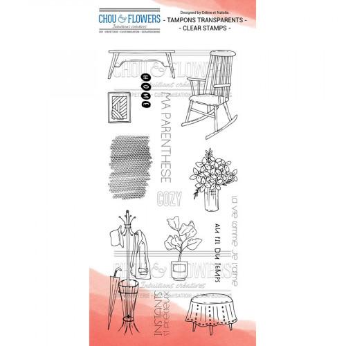 Tampons transparents Home Cottage - 14 pcs