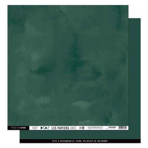 Papier uni #29 vert forêt