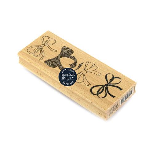 Tampon bois Quatre nœuds - 6 x 15 cm