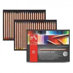 Crayon de couleur Luminance 6901 Boîte 40 pcs