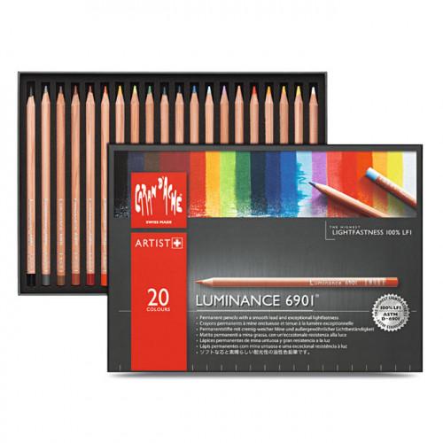 Crayon de couleur Luminance 6901 Boîte 20 pcs