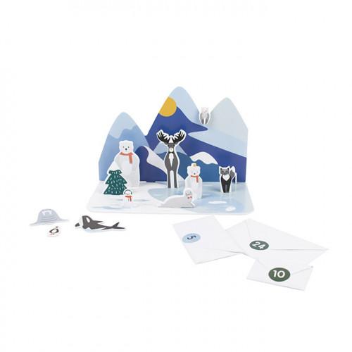 Calendrier de l'Avent Animaux polaires
