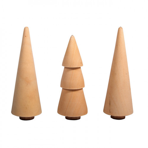 Arbres en bois Ø 2.9 cm 3 pcs