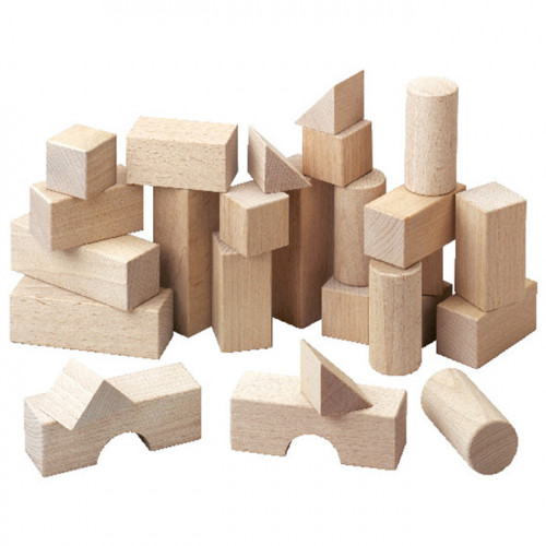 Jeu de construction Blocs en bois 26 pcs