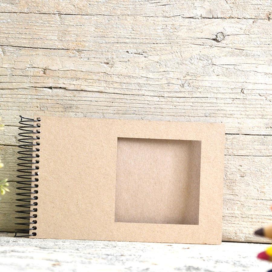 Album photo square 10 x 15 cm Kraft